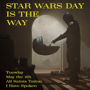 Star Wars Day Ad Year 8