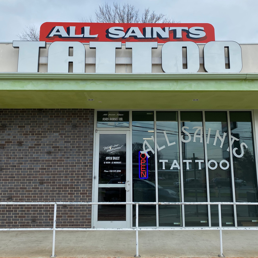 All Saints Tattoo North Austin Location