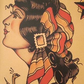 "SAILOR JERRY SPECIAL 5"" x 7"" $185"
