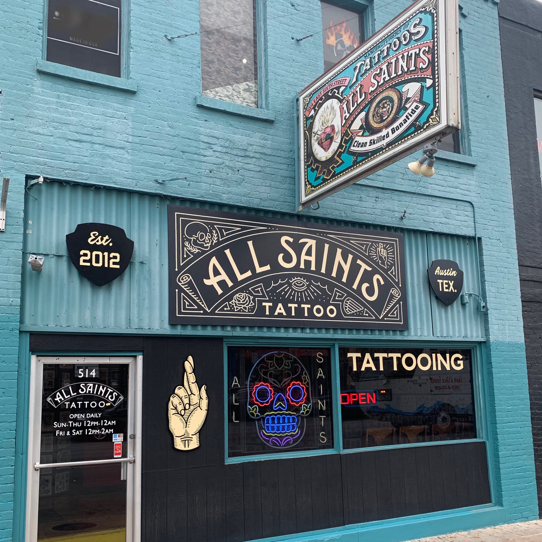 All Saints Tattoo 6th Street