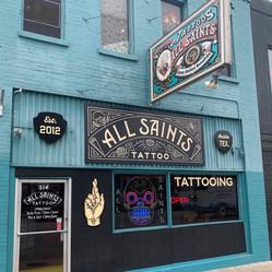 All Saints Tattoo 6th Street