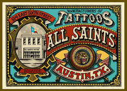 ALL SAINTS TATTOO AUSTIN TEXAS
