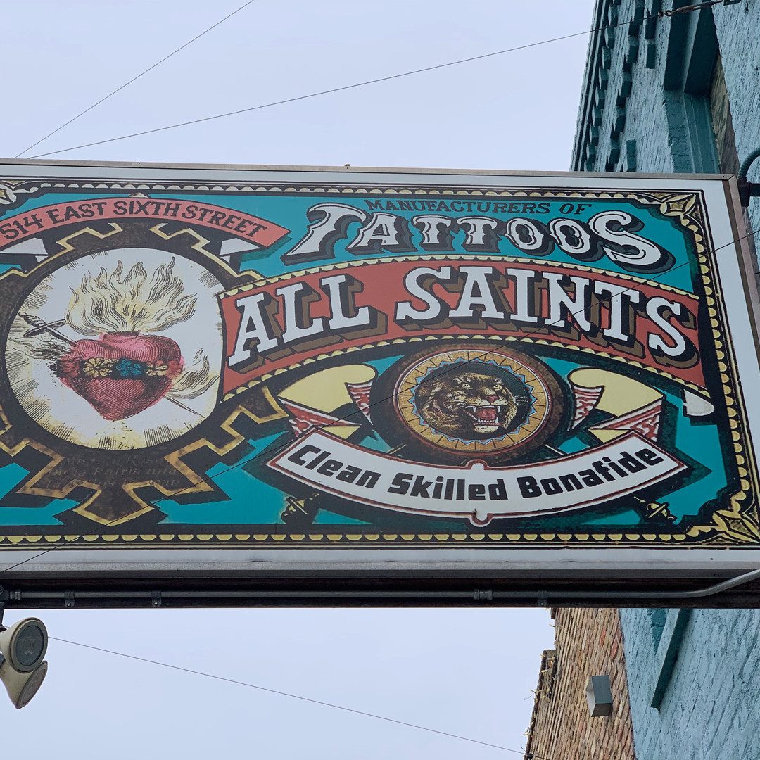 All Saints Tattoo Downtown
