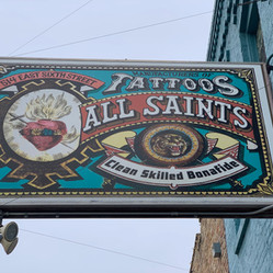 All Saints Tattoo Downtown