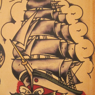 SAILOR JERRY SPECIAL ALL SAINTS TATTOO