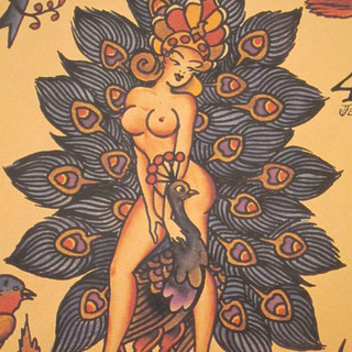 "SAILOR JERRY SPECIAL 6"" x 8"" $240"