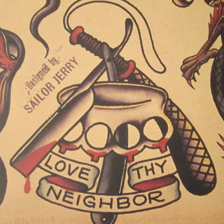 "SAILOR JERRY SPECIAL 4"" x 6"" $140"