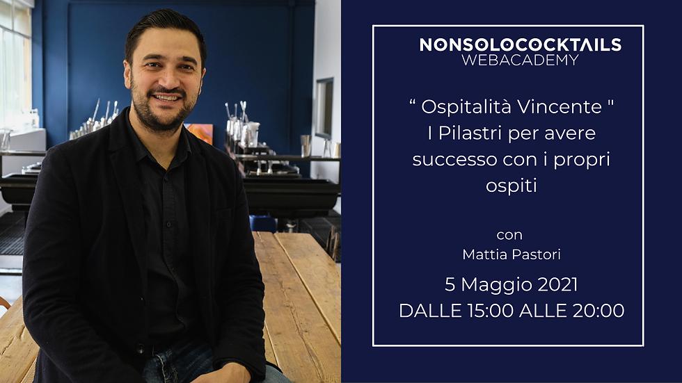 Webinar Ospitalità Vincente - I Pilastri per il successo con i propri ospiti
