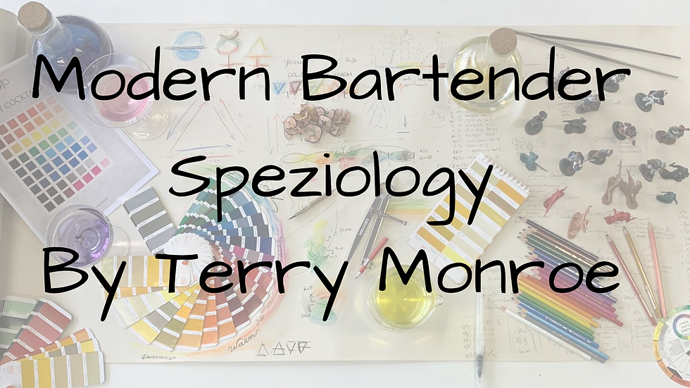 Speziology - The Alkemist Bartender 2 Giornate Webinar