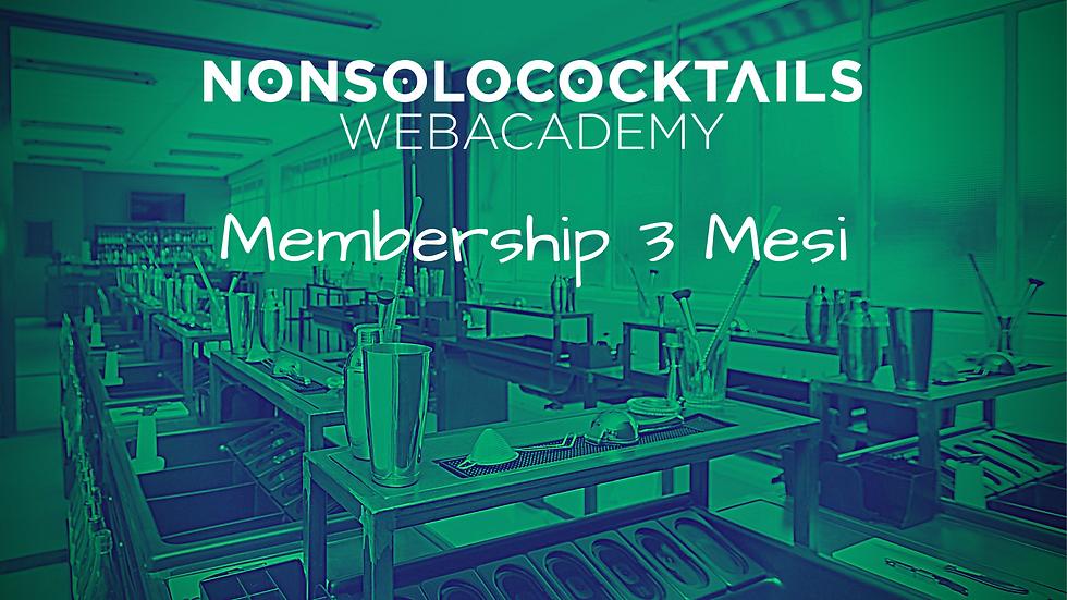 Web Academy - Membership 3 Mesi