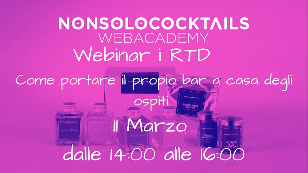 Webinar RTD Cocktails