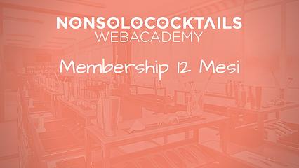 Membership 12 Mesi Web Academy NONSOLOCOCKTAILS