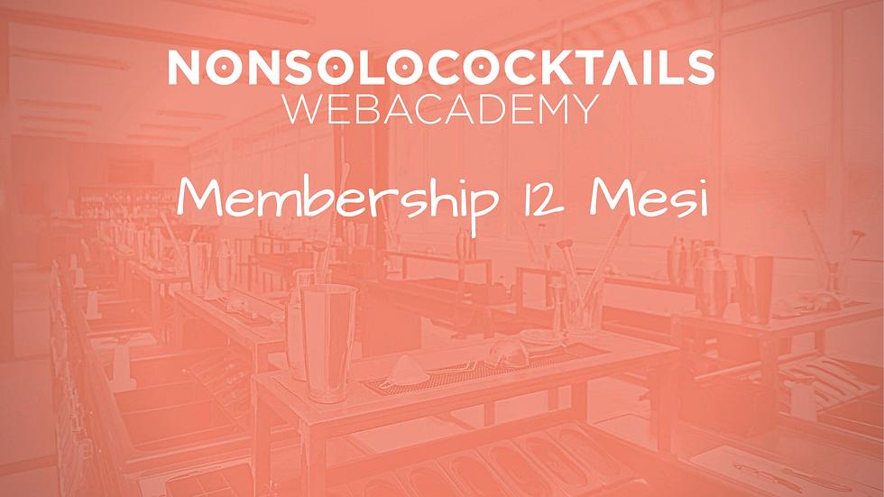 Web Academy - Membership 12 Mesi