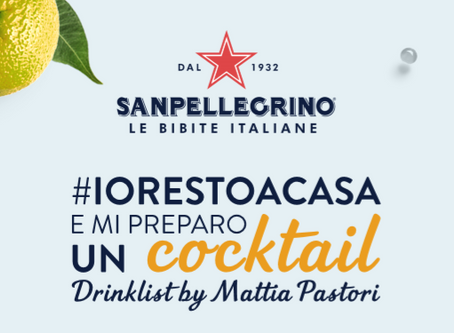 #IORESTOACASA E MI PREPARO UN COCKTAIL . . .