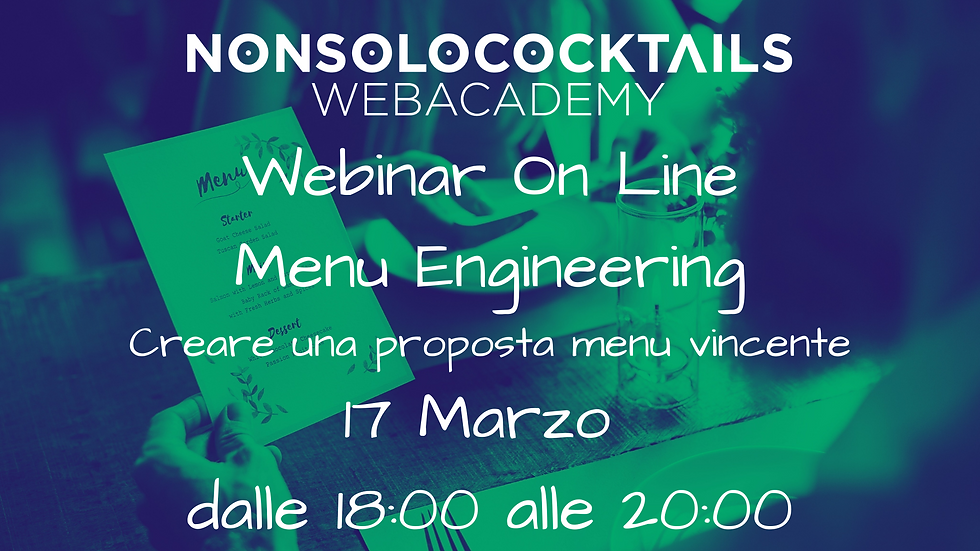 Webinar Menu Engineering