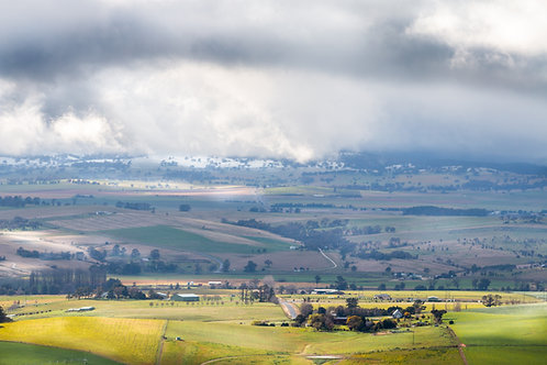 Green Grass and Snow - Bathurst, NSW