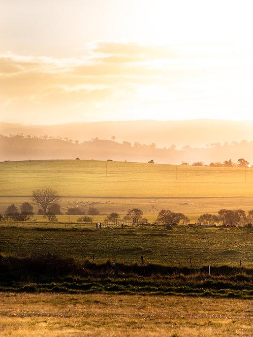 Sunset Layers - Bathurst, NSW