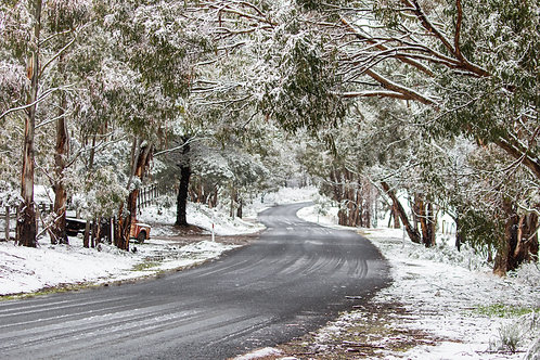 Winding Through Winter - Yetholme,  NSW