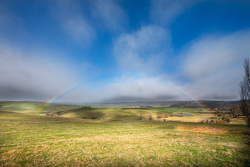 Rainbows and Snow Clouds - Evans Plains, NSW