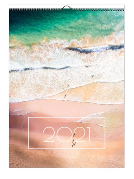 2021 Palm Beach Calendar - A3