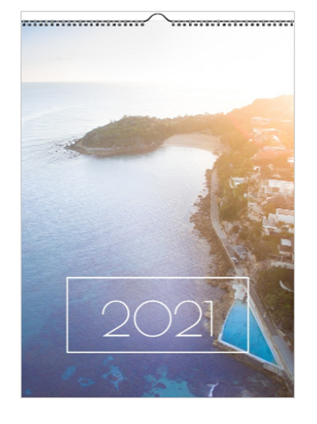 2021 Manly to Freshwater Calendar - A3