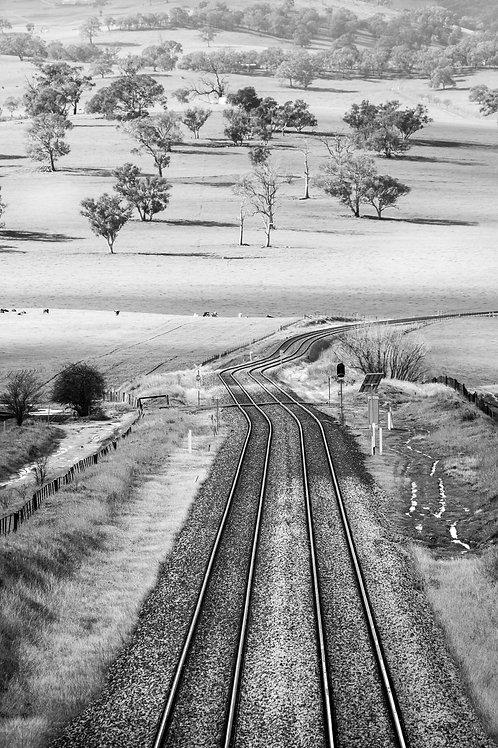 Leading Lines - Raglan, NSW