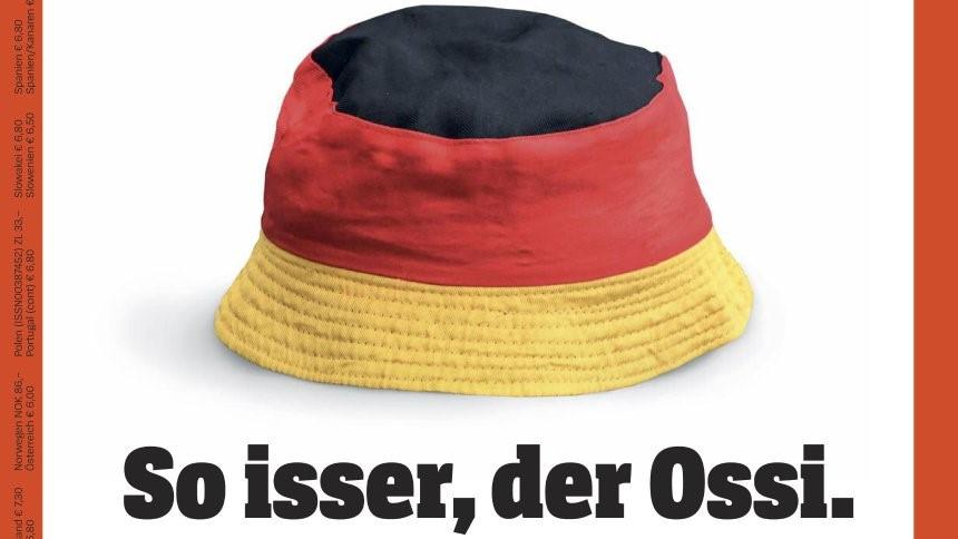 Spiegel Mütze Cap Germany Deutschland Ossi