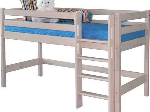 """Низкая кровать """"Соня"""" с прямой лестницей"""