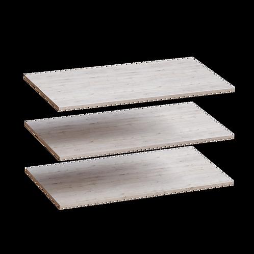 Соренто комплект полок (3шт) для шкафа 4 дв