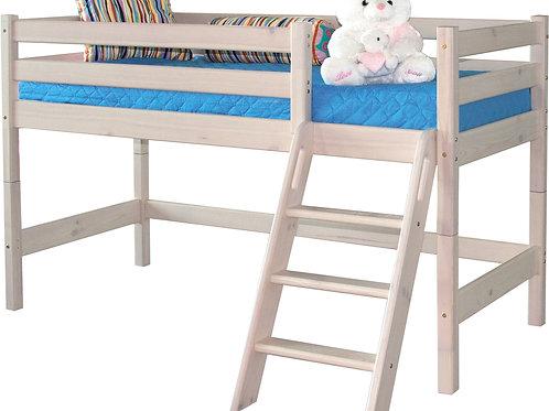 """Низкая кровать """"Соня"""" с наклонной лестницей"""