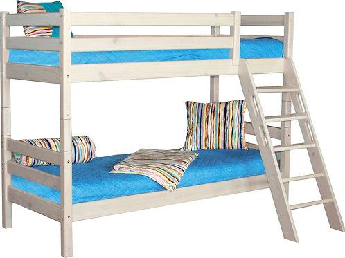 """Двухъярусная кровать """"Соня"""" с наклонной лестницей"""