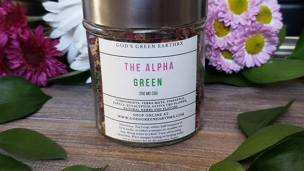 The Alpha Green- Fat Burner Tea 10 oz.