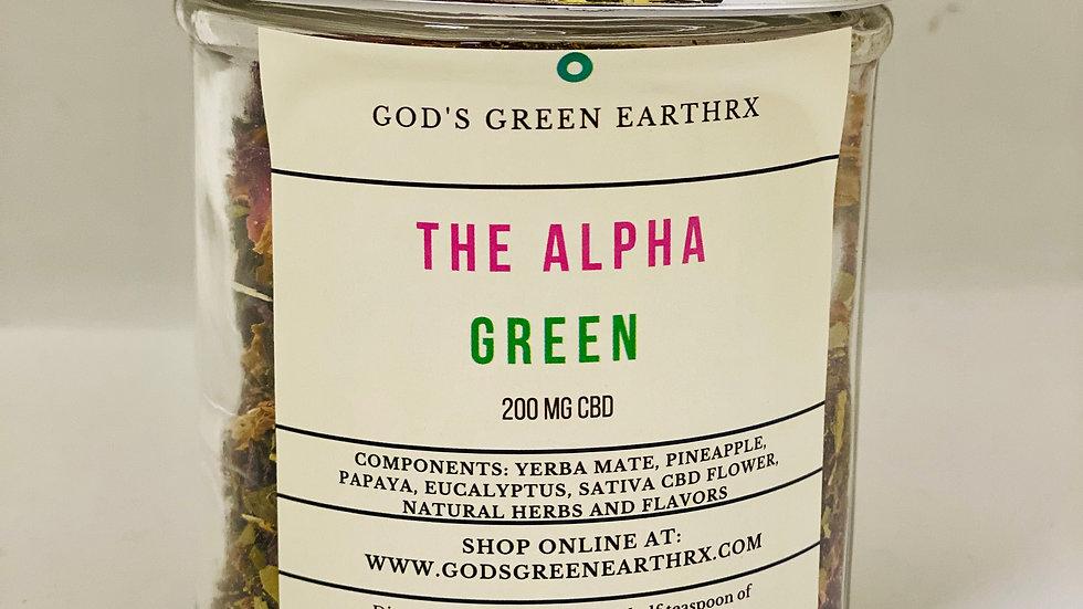The Alpha Green- Fat Burner Tea 10oz.