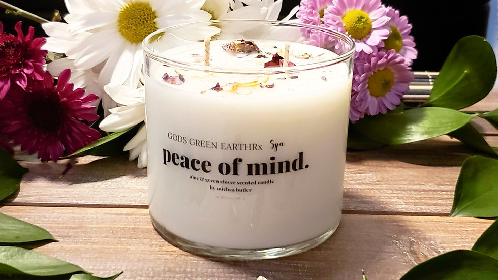 "Peace of Mind ""Ylang Ylang & Black pepper"" candle (handmade)"