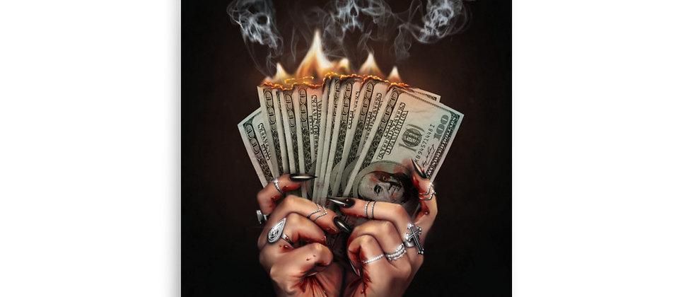 "DIRTY MONEY | 8x10"" Small Art Print"