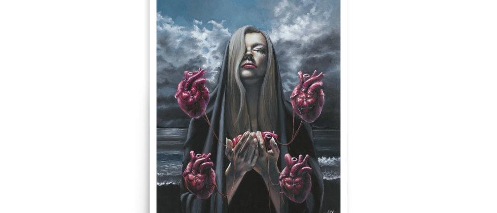 "EMPATHY | 12x18"" Art Print | 11x14"" Image Size"