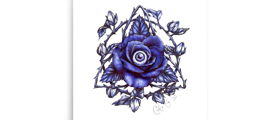 """Triquetra of Roses 