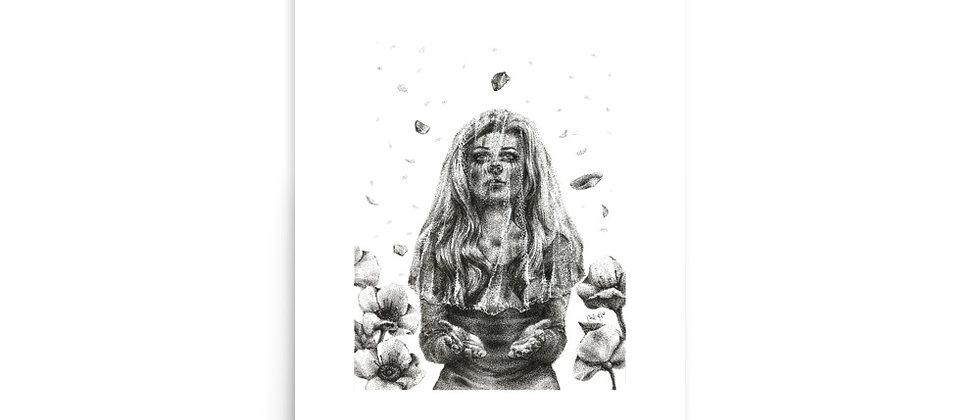 "OBLIVION HAS FALLEN | 12x18"" Art Print | 8x11"" Image Size"