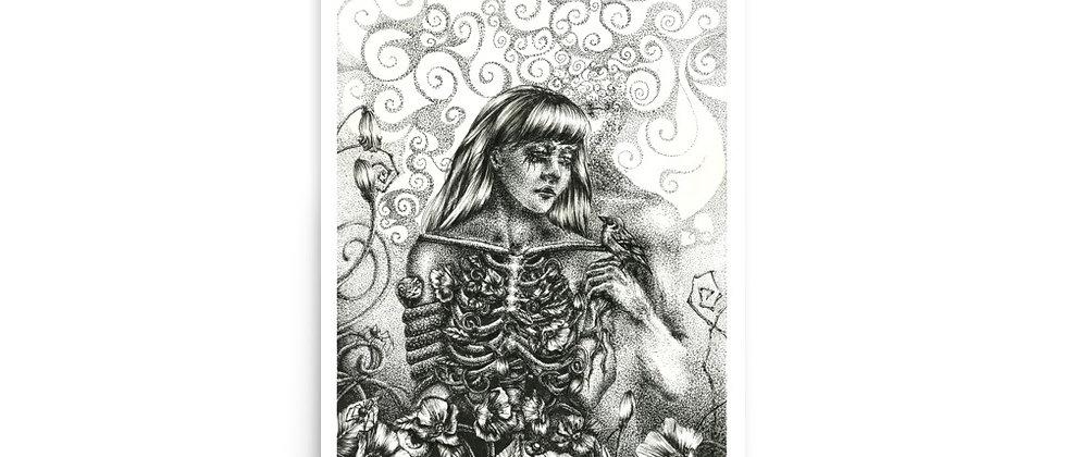 "GROUNDING | 12x18"" Art Print | 11x15.75"" Image Size"