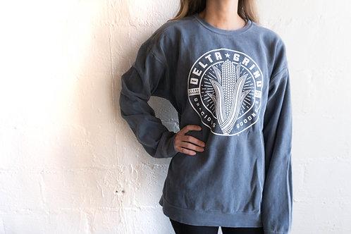 Delta Grind Sweatshirt - Denim