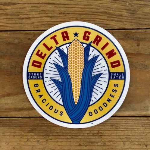 Delta Grind Official Logo Decal