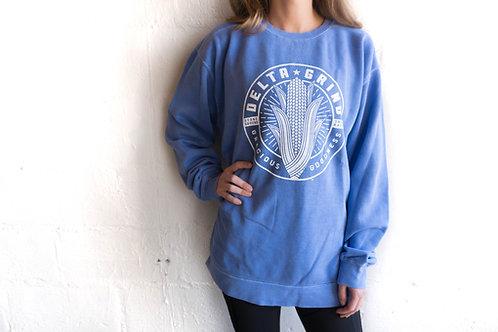 Delta Grind Sweatshirt - Flo Blue