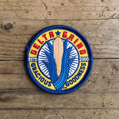 Delta Grind Official Logo Patch