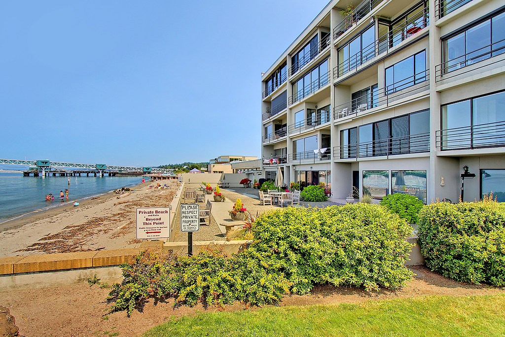 Edmonds Condo:  SOLD