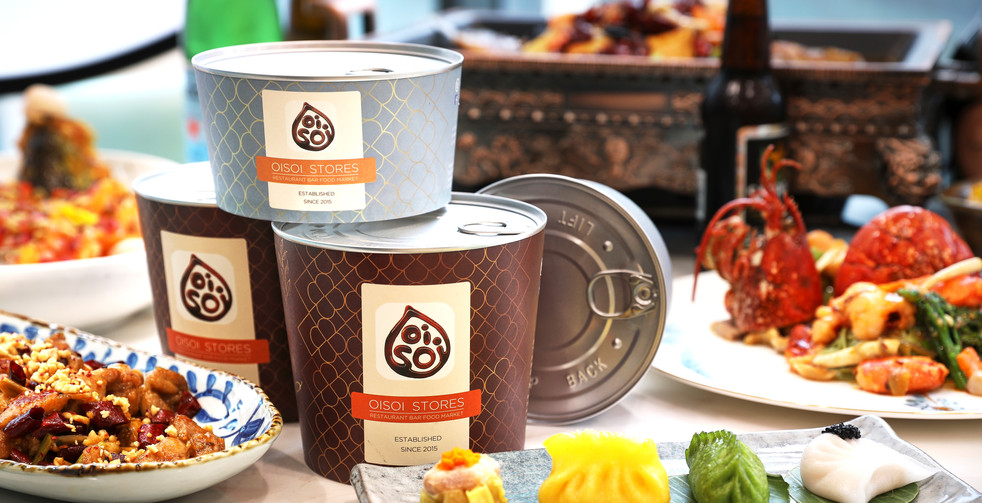 OISOI 100% Recyclable Take Away Tubs