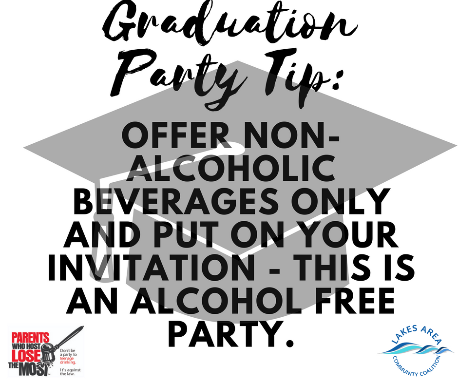Graduation Party Tip1