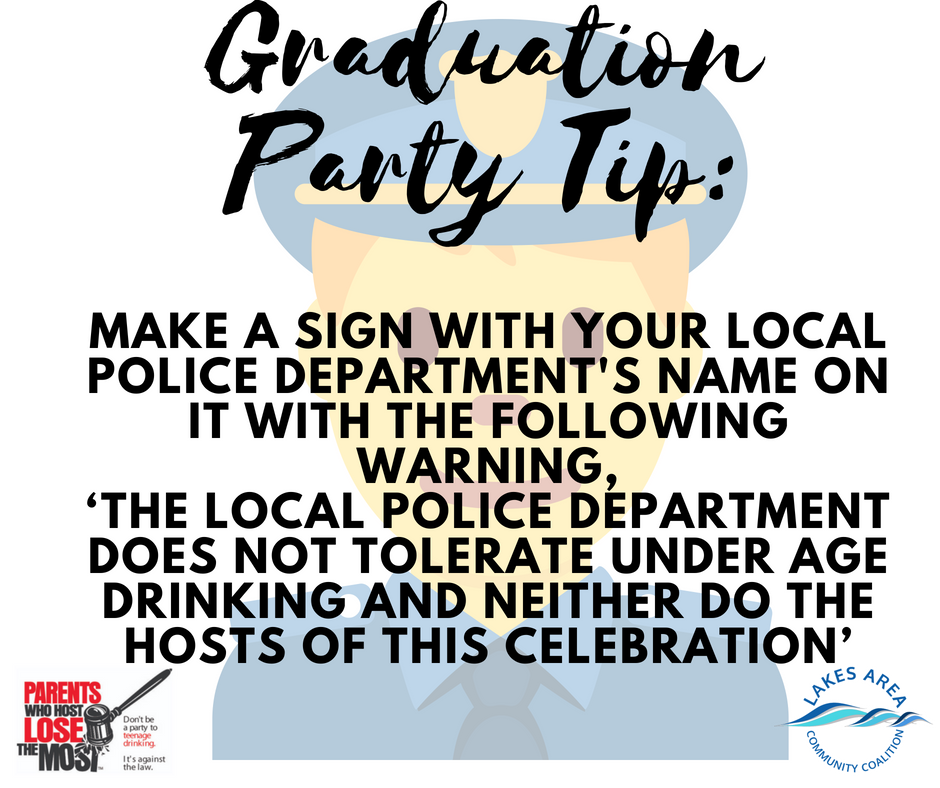 Graduation Party Tip9