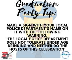 Graduation Party Tip9