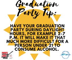 Graduation Party Tip10