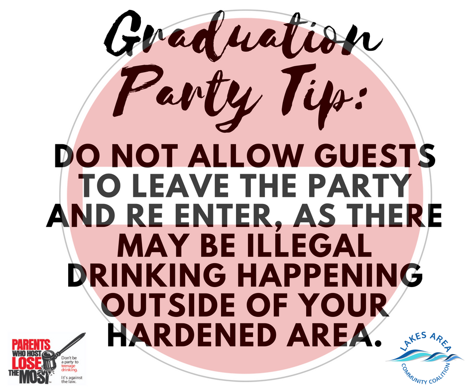 Graduation Party Tip7